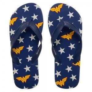 95cb5dcc39b3 Medium - Wonder Woman Flip Flops Shoes Unisex DC